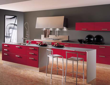 مطابخ باللون الأحمر 2014 ، مطابخ لمحبي اللون الأحمر 2014 102398.png
