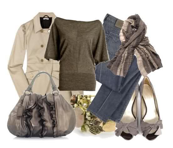 أشيك ملابس للبنات 2014 ، ملابس جينز للمحجبات 2014 108951.png