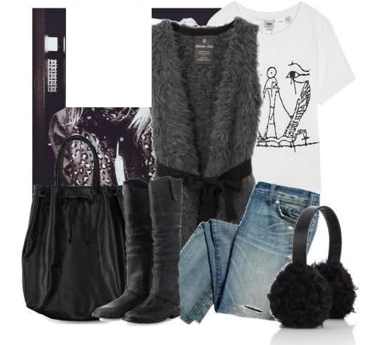 أشيك ملابس للبنات 2014 ، ملابس جينز للمحجبات 2014 108954.png