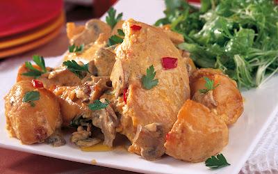 طريقة عمل الدجاج المتبل مع البطاطس 2014 - خطوات عمل الدجاج المتبل 2014 109286.png