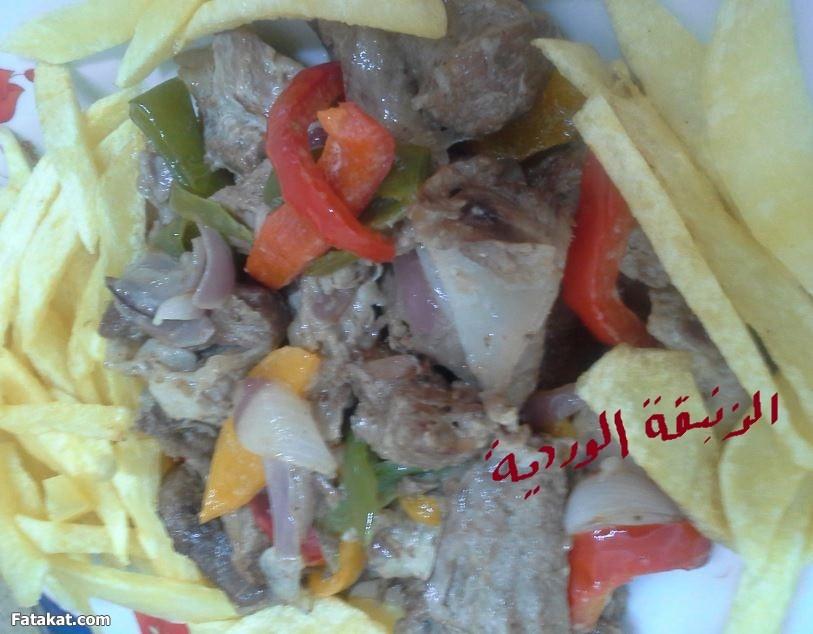 اللحم بالكريمة2014 , طريقة عمل اللحم بالكريمة2014 95153.png