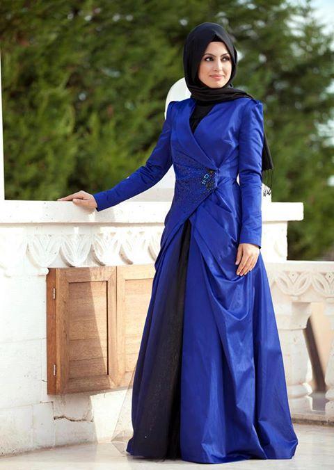 ملابس محجبات كيوت 2014 ، اجمل ملابس للمحجبات 2014 95806.png