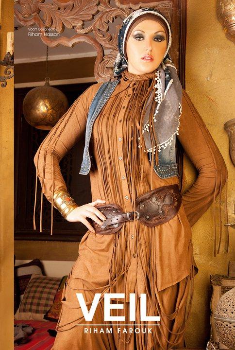 أجمل ملابس المحجبات 2014 - ملابس محجبات جميلة 2014 95819.png