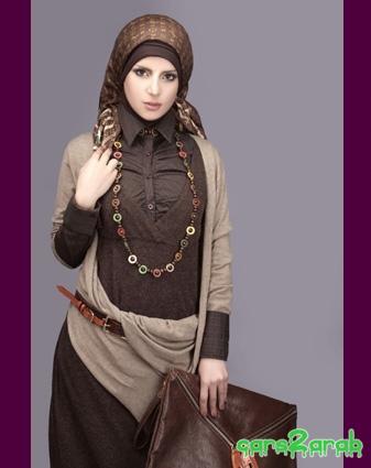 أجمل ملابس المحجبات 2014 - ملابس محجبات جميلة 2014 95820.png
