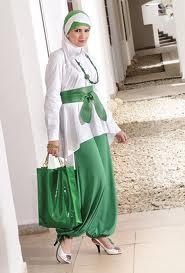 ملابس رقيقة للمحجبات 2014 - ارقى ملابس المحجبات 2014 95961.png