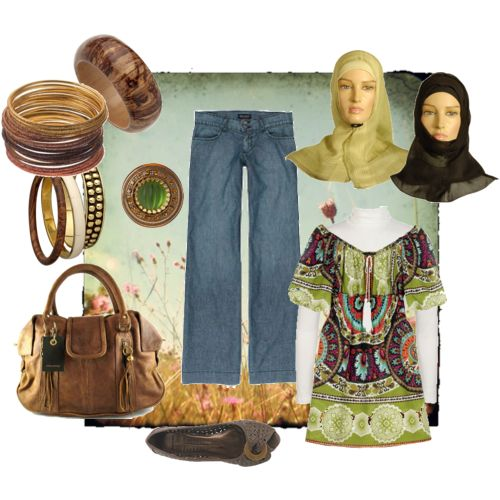 أرق أزياء محجبات 2014 - ازياء محجبات جنان 2014 95977.png