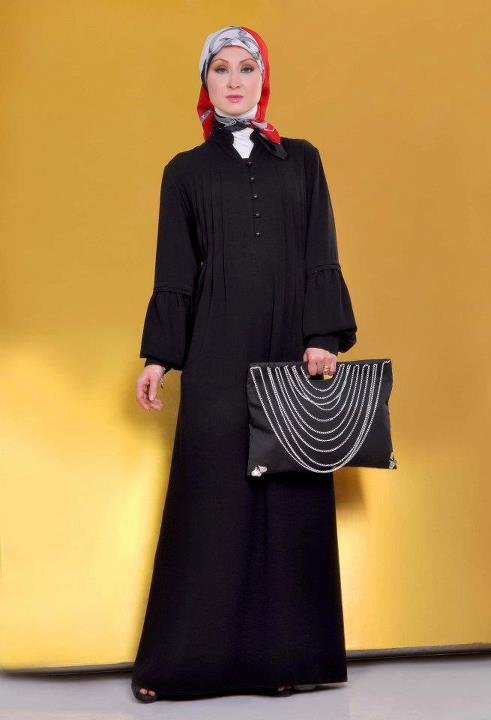 ملابس علي الموضة للمحجبات 2014 - موضة روعة لملابس المحجبات 2014 95986.png